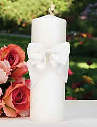 Classic Beauty Unity Candle in White Sash