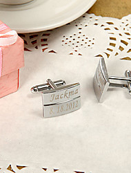 Gift Groomsman Personalized Classic Cufflinks