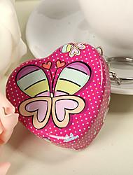 милые бабочки в форме сердца олова мяты (набор из 6)