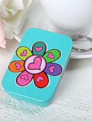 Heart Flowers Square Mint Tin (set of 6)