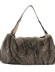 Rex Rabbit Fur Shoulder Bag/Tote