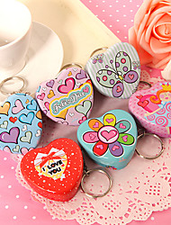 Heart Mint Tins –  Set of 12 (2 of Each Style)