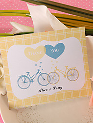 Thank You Card - Two Bicycles (Set of 50)