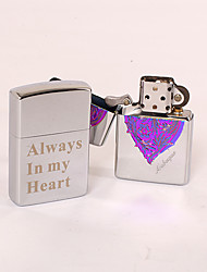 Personalized Lighter - Psychedelic Heart