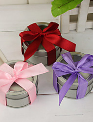 12 Piece/Set Favor Holder - Cylinder Tins Favor Tins and Pails/Favor Boxes Non-personalised