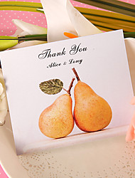 Thank You Card - Perfect Pair (Set of 50)