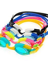 BASTO-Swimming pool Goggles Anti-fog Swimming Glasses Water Sports Googles for Kids(8 Color Available)