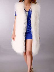 Genuine Mongolian Fur Vest
