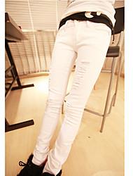 современные упругой Жан узкие брюки