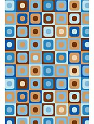 acryliques tapis tuftés avec motif géométrique 4 '* 6'