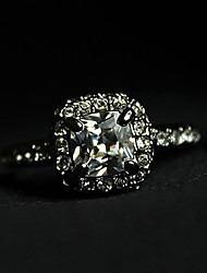 Austria Crystal Diamond Ring