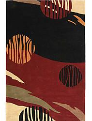 acryliques tapis tuftés avec motif artistique 3 '* 5'
