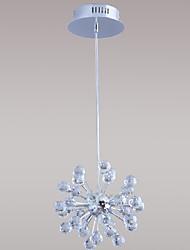 LANE - Lampadario in cristallo con 6 lampadine