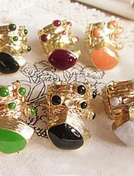 coloré anneau quelques poulpes