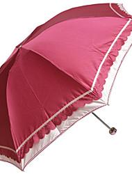 couleur bloc parapluie portable plié