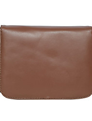 Sheepskin Chain Leather Satchel