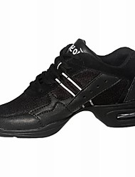 Leatherette Modern Dance Sneakers For Women/Men/Kids