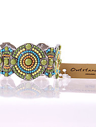 Modern Multi-Color Bangle Bracelet