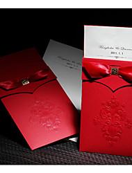 Não personalizado Embrulhado e de Bolso Convites de casamento Cartões de convite-50 Peça/ConjuntoEstilo Formal / Estilo Clássico / Estilo