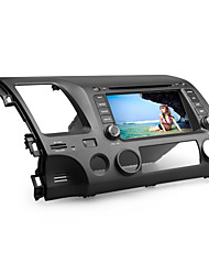 7 polegadas carro dvd player para honda civic 2006-2011 (gps, bluetooth, tv)