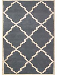 acrílico alfombras peludas zona con forma de diamante 3 '* 5'