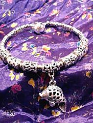 poissons d'argent cloche petit bracelet