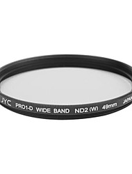 Genuine JYC Super Slim High Performance Wide Band ND2 Filter 49mm