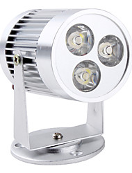 3x1W 3 LED White 6000K Ambry Light