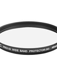 véritable JYC super mince haute performance à large bande filtre protecteur 49mm