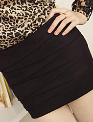 Office Lady Tight Hip Mini Skirt