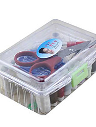 Convenient 24-Piece Sewing Kit in Rectangular Box