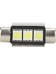 36 millimetri 5050 SMD 5500K lampadina led a luce bianca per auto