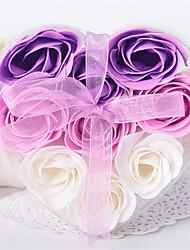 9 Stück Seife stieg Blütenblätter in Heart Shaped Box (Set mit 4 Boxen)