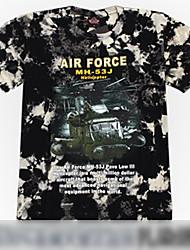 camuflagem rocha submarina de impressão t-shirt