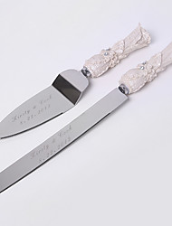 Serving Sets Wedding Cake Knife Personalized  Cake Serving Set In Resin Handle