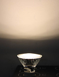 1W GU10 Spot LED MR16 12 Dip LED 90 lm Blanc Chaud AC 110-130 V
