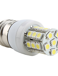 4W E26/E27 LED a pannocchia T 27 SMD 5050 300 lm Bianco AC 220-240 V