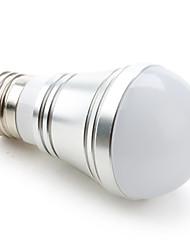 3W E26/E27 LED Kugelbirnen A50 9 SMD 5730 250 lm Warmes Weiß / Kühles Weiß / Natürliches Weiß DC 12 V