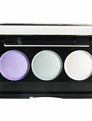 3 Colors Powder Shimmer Eye Shadow