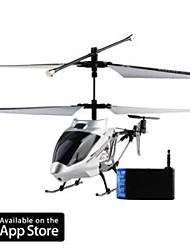 3 Channel I-Helicopter 777-173 with Gyro Controlled by iPhone/iPad/iPod Touch Silver (777-173S)