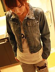Basic Short Jean Coat