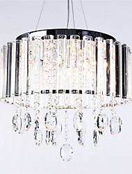 Crystal Pendant Light with 3 Lights