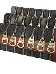 Jean Cloth Nail Zippers Cross-body Bag(23cm*5cm*10cm)