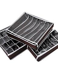 Bamboo Charcoal Storage Box (3-Piece)