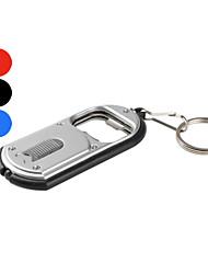 ouvre-bouteille en plastique porte-clé lampe de poche LED (couleurs assorties)