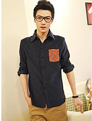 de manga larga t-shirts para hombres