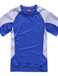 Extérieur Homme T-shirt Camping & Randonnée / Escalade / Sport de détente Perméabilité à l'humidité / Séchage rapidePrintemps / Eté /