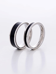 Couples' Stainless Steel/Rose Gold Plated Ring Stainless Steel/Rose Gold Plated