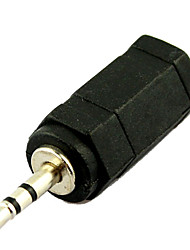 3.5mm Female Jack to 2.5mm Male Plug Audio Adapter Converter