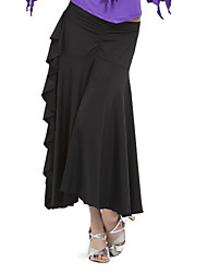 Ballroom Women's Polyester Modern Dance Skirt More Colors